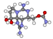 Fig. 1: Chemical structure of saxitoxin